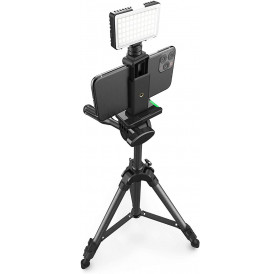 Digipower InstaFame - Super Compact 50 LEDs Video Light With Phone Holder