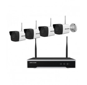 Hikvision WiFi Kit με 4 Κάμερες 2MP NK42W0-1T (WD)